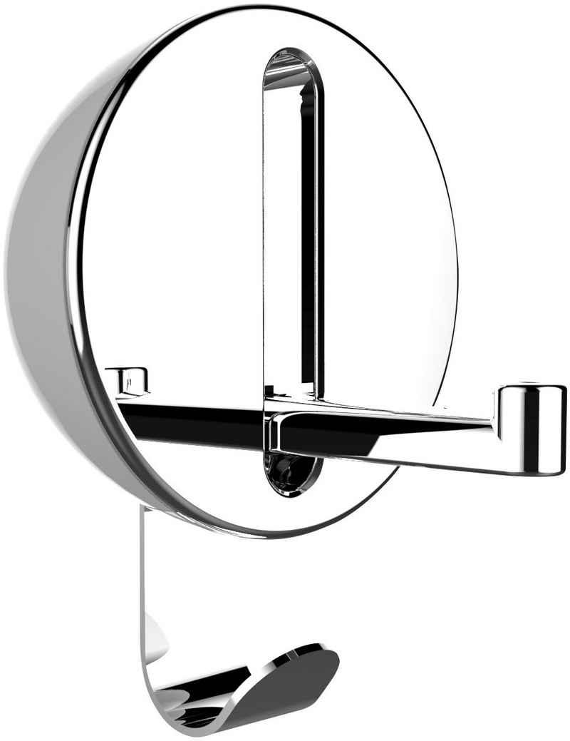 Klapphaken »Premium Delta«, WENKO, ideal für Küche, Bad, WC, Garderobe & gesamten Haushalt, rund