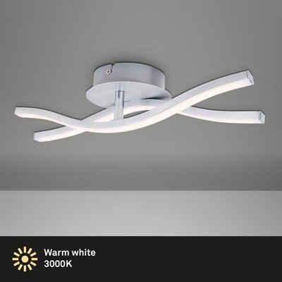 Briloner Leuchten Deckenleuchte »3194-029«, Deckenlampe modern 12W 960lm 3000K IP20 Lampe