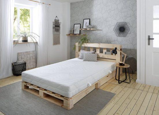 Komfortschaummatratze »Tornby«, Älgdröm, 21 cm hoch, Raumgewicht: 39, Eine weiche und eine feste Liegeseite: So liegst Du immer, wie Du es magst! DIE perfekte Matratze für Euer Doppelbett!