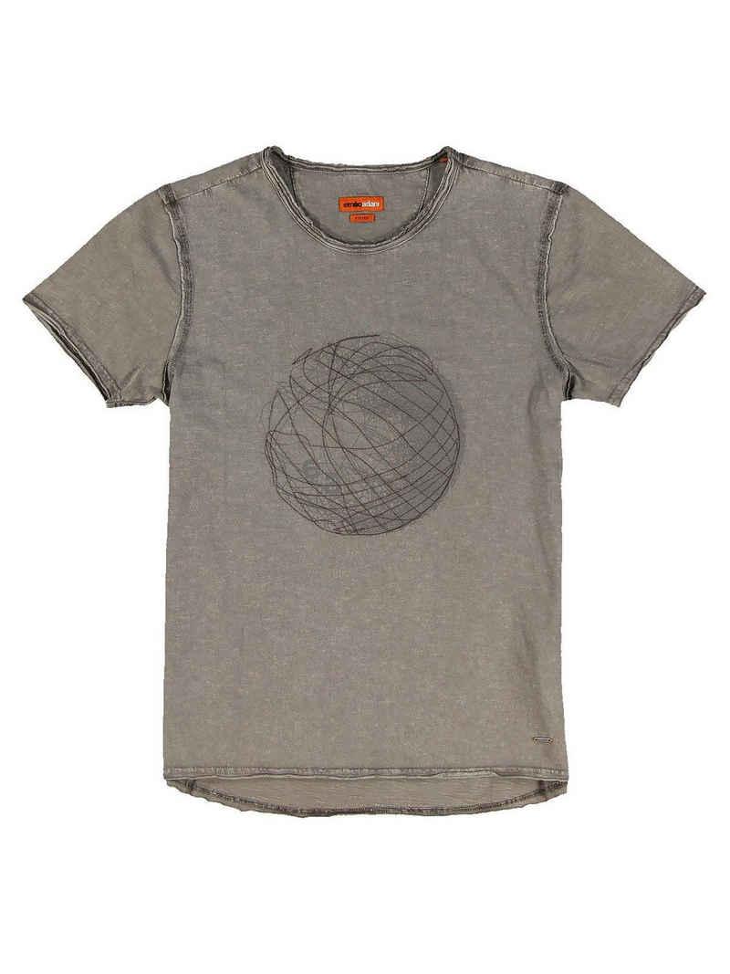 emilio adani Rundhalsshirt »T-Shirt Rundhals«
