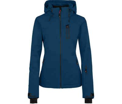 Bergson Skijacke »NICE light« Damen Skijacke, unwattiert, 20000 mm Wassersäule, Normalgrößen, poseidon blau