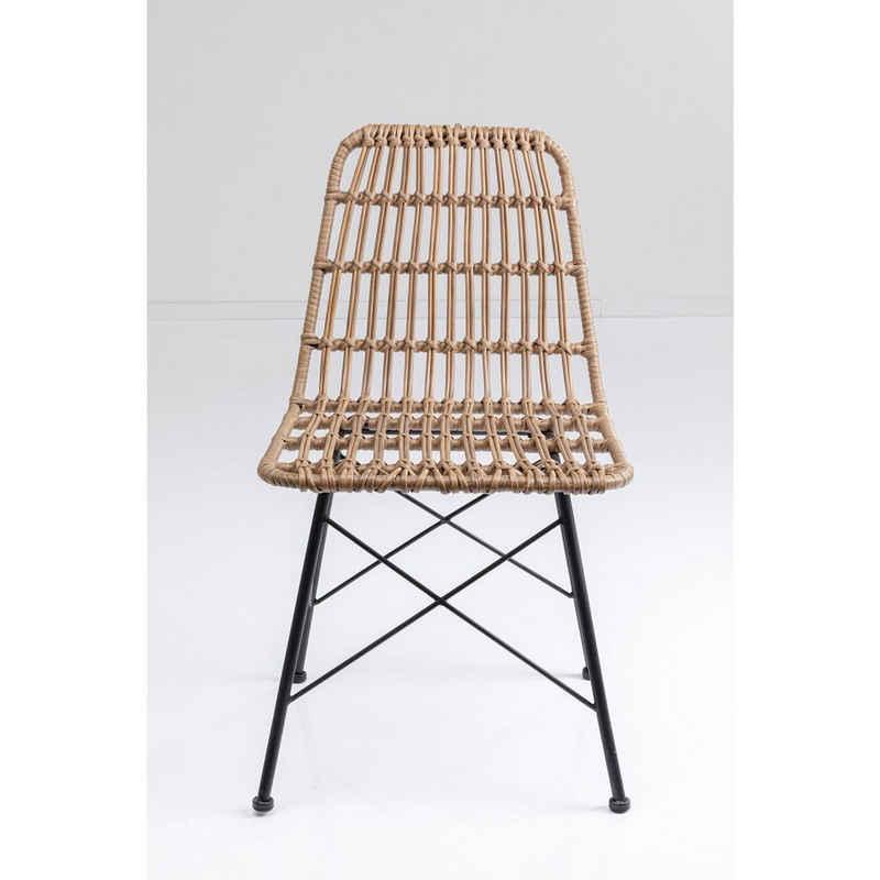 KARE Stuhl »Stuhl Bari Beige«