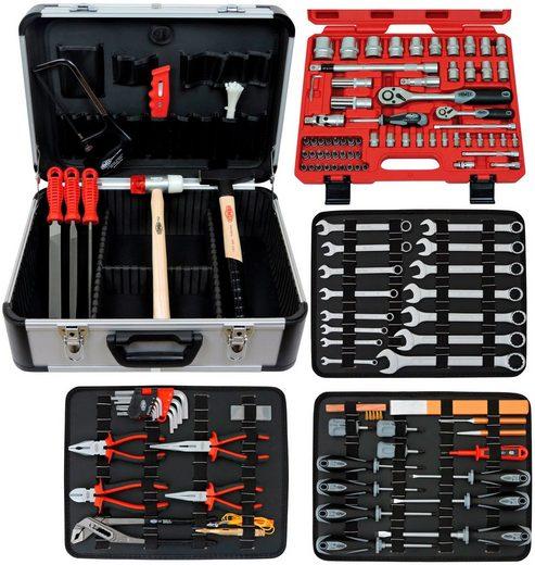 FAMEX Werkzeugkoffer »720-24«, 88-tlg., mit 66-tlg. Steckschlüsselsatz