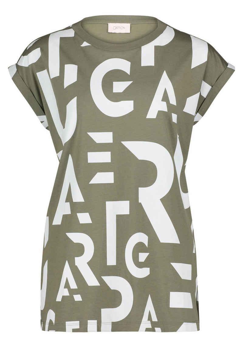 Cartoon T-Shirt »mit Aufdruck« Foliendruck