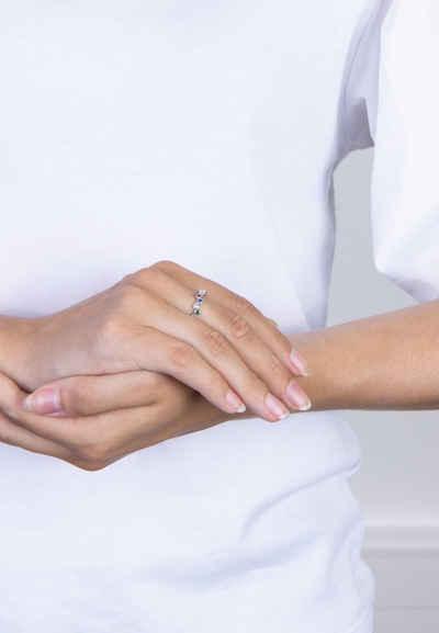 Joanli Nor Silberring »EBRUNOR Ring mit farbigen Zirkonia«