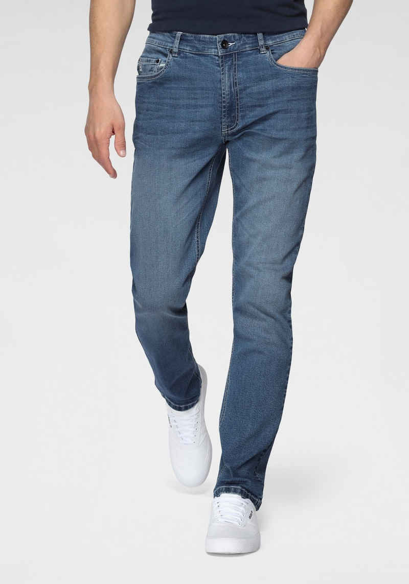 H.I.S Straight-Jeans »BUCK« Nachhaltige, wassersparende Produktion durch OZON WASH