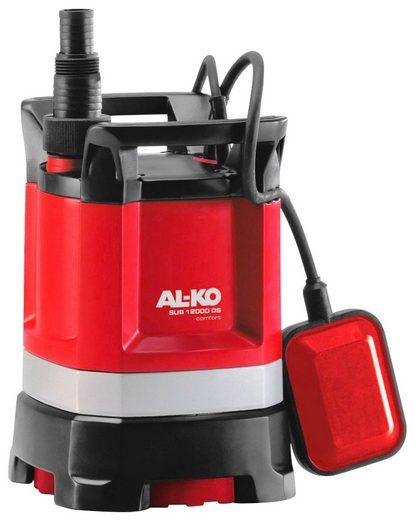 AL-KO Klarwasser-Tauchpumpe »SUB 12000 DS Comfort«, 9.500 l/h max. Fördermenge