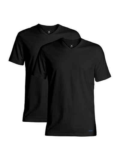 Ted Baker V-Shirt »2-Pack T-Shirts mit V-Neck, aus Modalfaser«