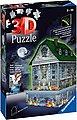 Ravensburger 3D-Puzzle »Gruselhaus bei Nacht«, 216 Puzzleteile, mit gespenstischen LED-Effekten; Made in Europe; FSC® - schützt Wald - weltweit, Bild 2