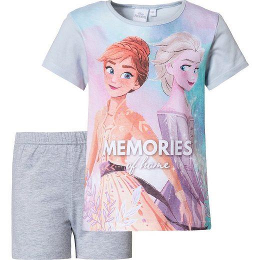 Disney Frozen Schlafanzug »Disney Die Eiskönigin Schlafanzug für Mädchen«