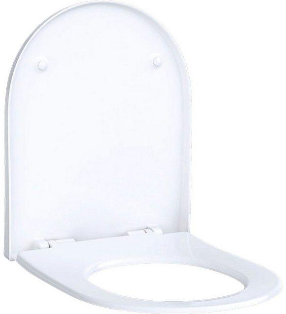 WCs und Zubehör - GEBERIT WC Sitz »Acanco«, weiß, Quick Release  - Onlineshop OTTO