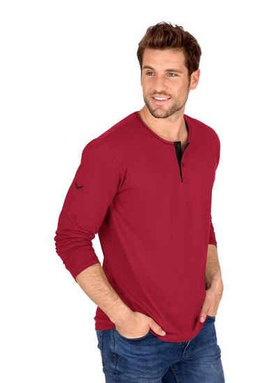 Trigema Langarmshirt aus Biobaumwolle