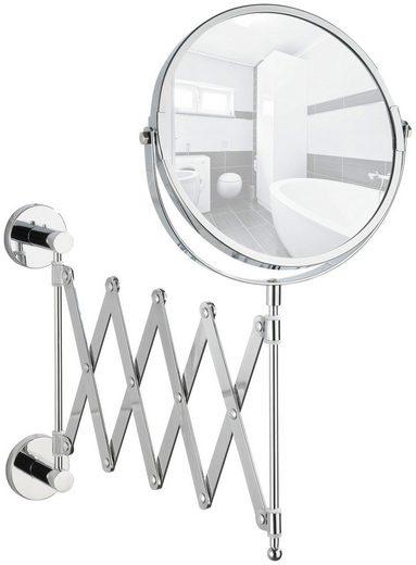WENKO Kosmetikspiegel »Elegance«, Teleskop, Power-Loc - Befestigen ohne bohren