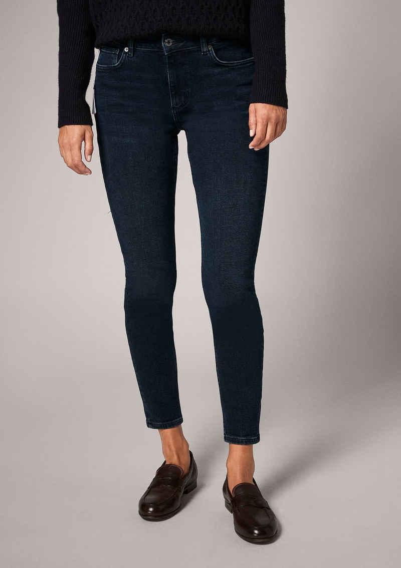 Comma 7/8-Jeans »Slim: Dark Blue-Denim«