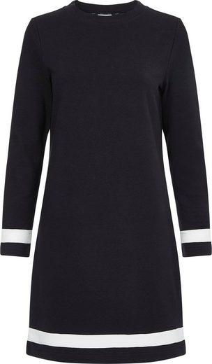 Calvin Klein Jerseykleid »OTTOMAN COLOUR BLOCK LS DRESS« mit kontrastfarbenen Streifen