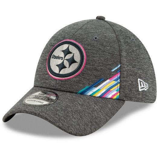 New Era Flex Cap »39Thirty CRUCIAL CATCH Pittsburgh Steelers«