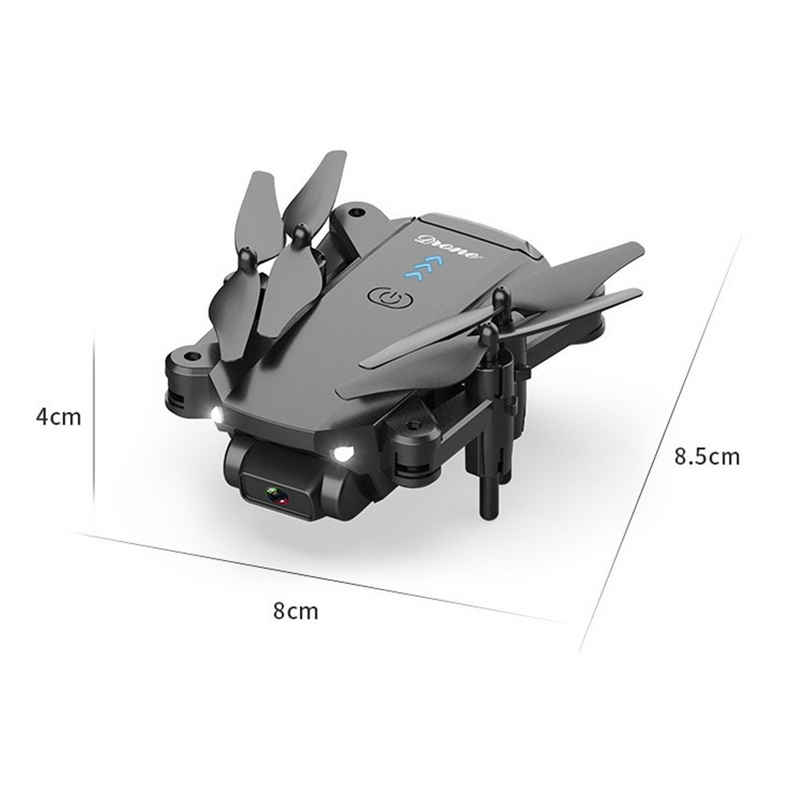 TOPMELON RC-Quadrocopter, Mit Licht, Mit Kamera