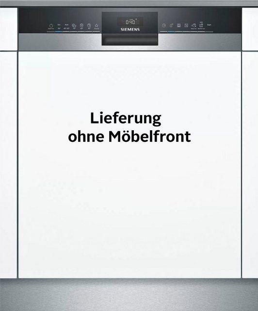 Küchengroßgeräte - SIEMENS teilintegrierbarer Geschirrspüler iQ300, SN53HS60CE, 14 Maßgedecke  - Onlineshop OTTO