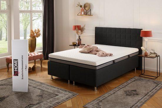 Komfortschaummatratze »Neo«, my home, 16 cm hoch, mit 3 cm hoher, atmungsaktiver, weicher Softschaumauflage «Air Foam», gute Körperanpassung und angenehme Druckentlastung