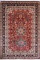 Seidenteppich »Kashan N-160«, Kayoom, rechteckig, Höhe 10 mm, Einzelstück mit Zertifikat, Wohnzimmer, Bild 2