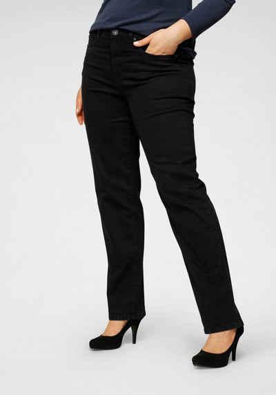 Arizona Straight-Jeans »Curve-Collection« mit bequemen Dehnbund