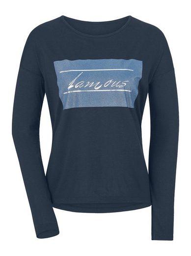 Classic Inspirationen Shirt mit platziertem Druck