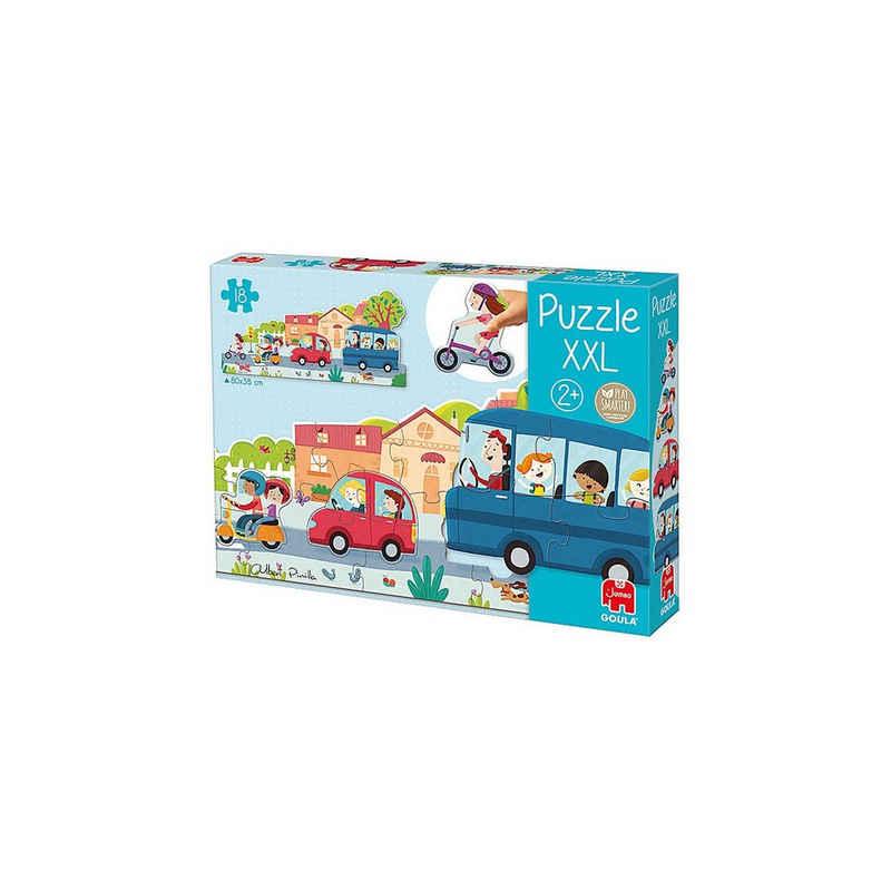 Goula Puzzle »GOULA XXL-Puzzle Fahrzeuge«, Puzzleteile