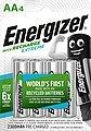 Energizer »Akku Recharge Extreme AA 4x 2300 mAh« Batterie, Bild 1