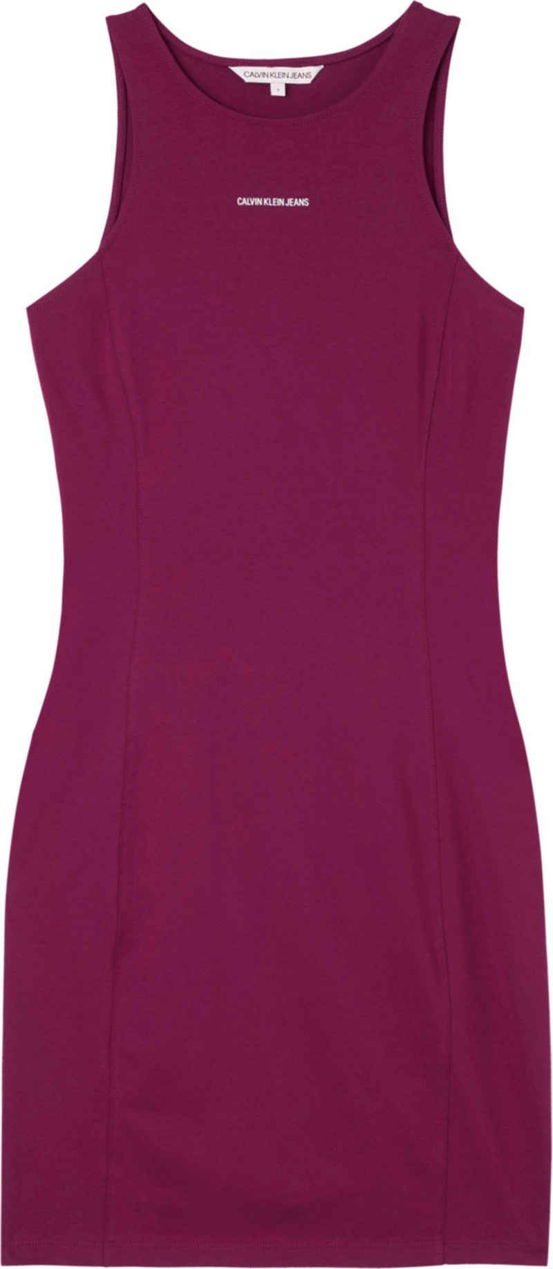 Calvin Klein Jeans Trägerkleid »Micro Branding Racer Back Dress« mit Calvin Klein Micro Logo-Schriftzug