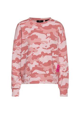 Calvin Klein Performance Sportinio stiliaus megztinis »Camo Sto...