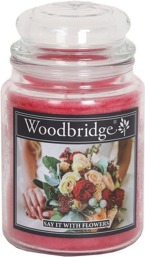 Woodbridge Duftkerze »Say It With Flowers« (1-tlg)