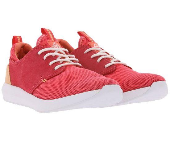 Reef »reef Cruiser Freizeit-Schuhe atmungsaktive Damen Low Top-Sneaker Alltags-Schuhe mit Schnürsenkeln Rot« Sneaker