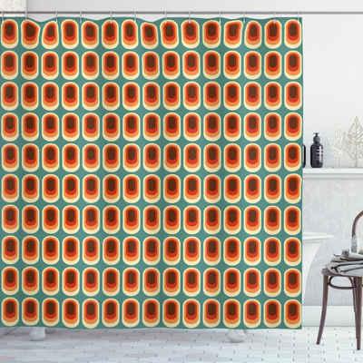 Abakuhaus Duschvorhang »Moderner Digitaldruck mit 12 Haken auf Stoff Wasser Resistent« Breite 175 cm, Höhe 180 cm, Retro Vintage Mode-Ethno