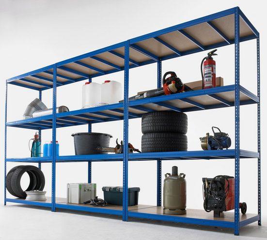 Sz Metall Zusatzboden für Weitspann-Steckregal