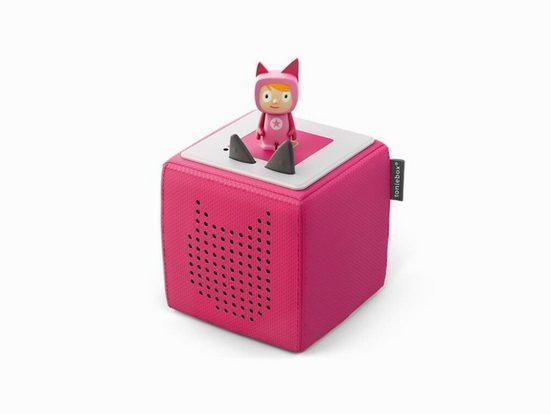 tonies Tonies Starterbox Pink Lautsprecher (WLAN (WiFi), Kompaktlautsprecher)