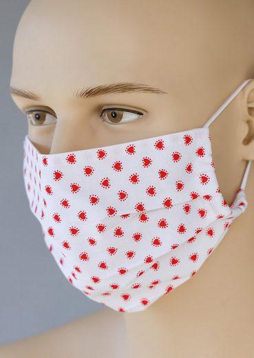 Love Nature Mund-Nasen-Maske, für Erwachsene