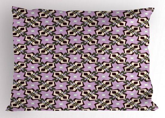 Abakuhaus Kissenbezug »Dekorativer Standard King Size Gedruckter Kissenbezug,«, Abstrakt Quirky Design-Formate Sterne