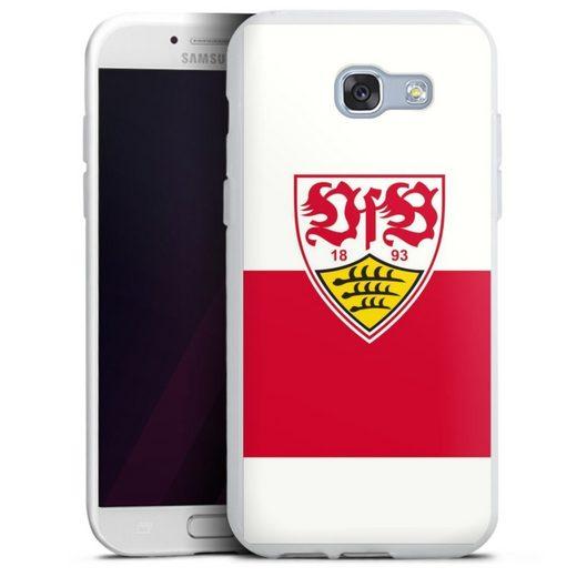 DeinDesign Handyhülle »VfB Stuttgart Brustring« Samsung Galaxy A5 (2017), Hülle VfB Stuttgart Offizielles Lizenzprodukt Logo
