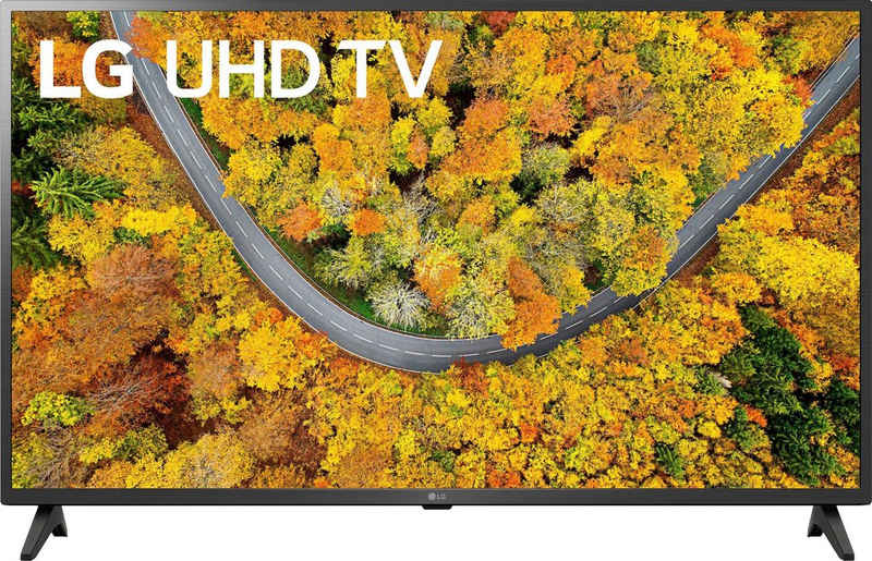 LG 43UP75009LF LCD-LED Fernseher (108 cm/43 Zoll, 4K Ultra HD, Smart-TV, LG Local Contrast, Sprachassistenten, HDR10 Pro)