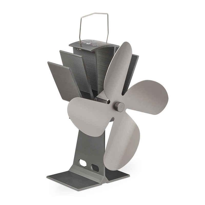 relaxdays Kaminventilator Ofenventilator ohne Strom