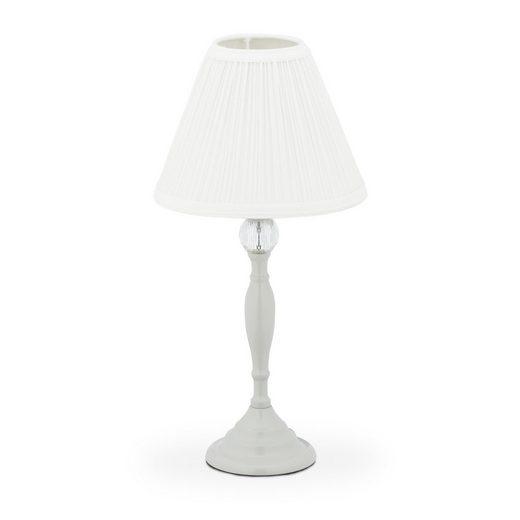 relaxdays Nachttischlampe »Kristall Tischlampe«