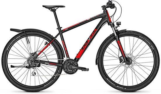 Univega Mountainbike »ALPINA STREET«, 24 Gang Shimano Acera Schaltwerk, Kettenschaltung