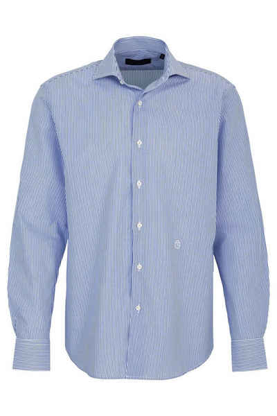 Trussardi Streifenhemd »Trussardi Hemd Blue White«