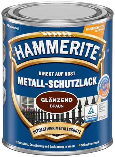 Hammerite Metallschutzlack »Glänzend«, 0,25 Liter, braun