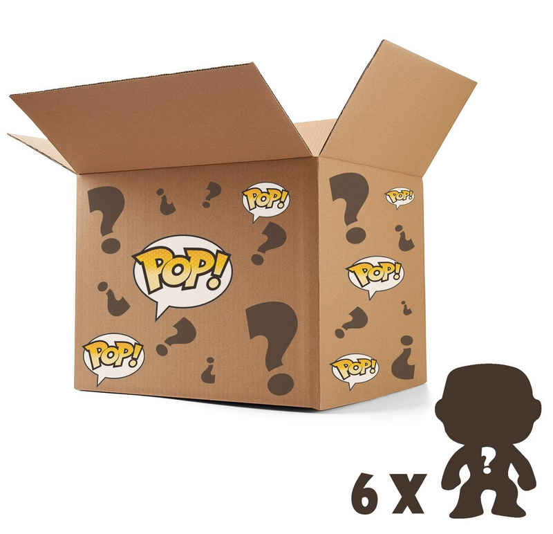 Funko Sammelfigur »Funko Pop! - Mystery Box - zufällig ausgewählte Figuren« (6 Stück)