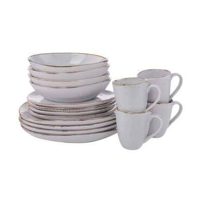 BUTLERS Frühstücksteller »FINCA Geschirr-Set 16-tlg.«