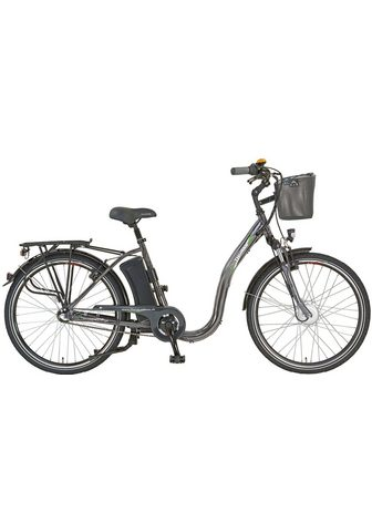 Didi THURAU Edition E-Bike »Alu City Comfort Tiefeinsteige...