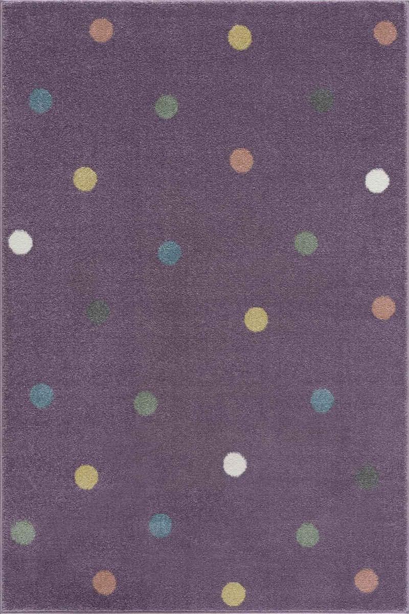 Kinderteppich »Wheel«, Happy Rugs, rechteckig, Höhe 18 mm, weicher Flor