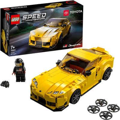 LEGO® Konstruktionsspielsteine »Toyota GR Supra (76901), LEGO® Speed Champions«, (299 St)