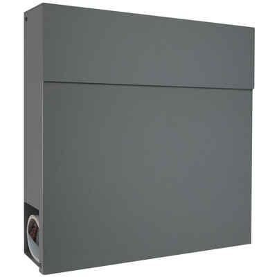 MOCAVI Briefkasten »MOCAVI Box 530 Design-Briefkasten basalt-grau (RAL 7012)«